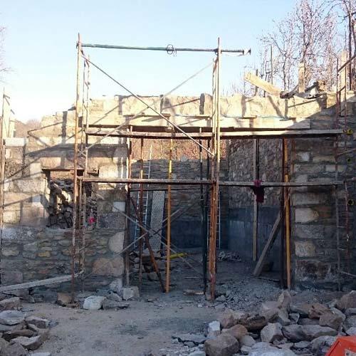 Construcción de un nuevo almacén