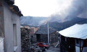 Incendio en los montes