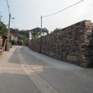 Obra de ensanchamiento de la calle Iglesia acabada