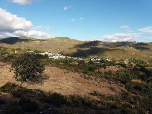 Vista del valle de La Tejera