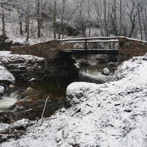 Finalizada la restauración del puente La Veneira