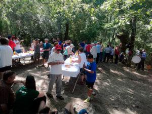Almuerzo en la frontera con Villarino 2019
